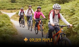 Golden Maple Bike Camp Group